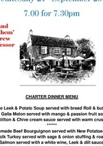 Invitation to Biggleswade Ivel's Charter Night