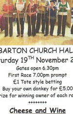 Luton Chiltern Invites you to a French Donkey Derby