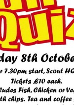 Stevenage Grange Join with Scouts for Fun Quiz