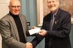 Leighton Linslade Donation to Prostate Cancer Support