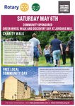 Community Sponsored Green Wheel Walk and Discovery Day at Jordans Mill