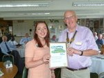 Macmillan says Thank You to Baldock Rotary