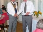Baldock Rotary has New Leader