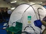 Rotary Clubs Provide School ShelterBox Demo
