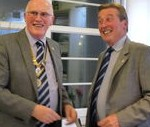 Baldock President Hands Over