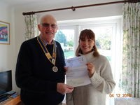 Baldock Rotary Club Assists with Fundraising