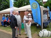 Letchworth Howard to the fore at Armed Forces Day display