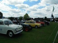 Classic Cars Arrive at Gawcott