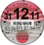 Replace Your Road tax Disc